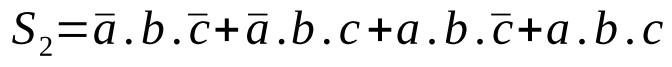 équation logique 2